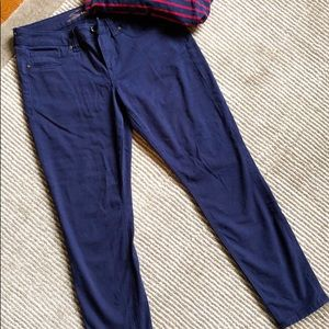 NWOT Seven7 blue chino skinny jeans